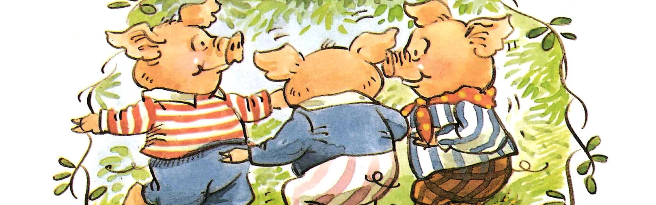 It's Storytime! The Three Little Pigs