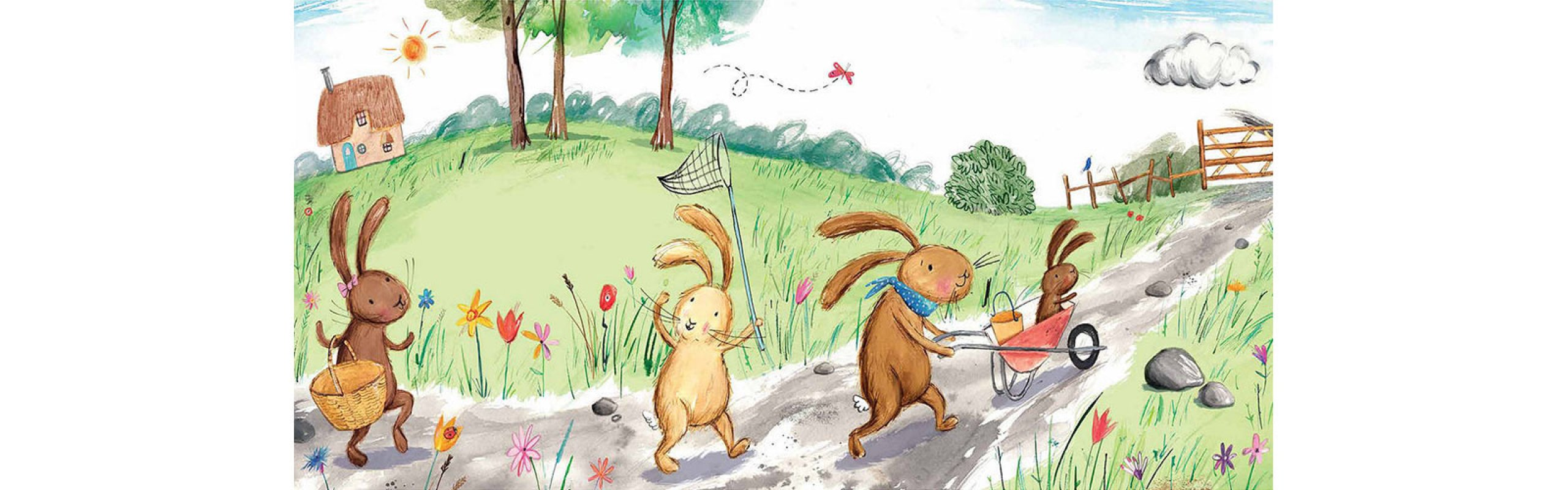 A SPECIAL EASTER STORYTIME! We are Going on an Egg Hunt. Illustrated by Laura Hughes