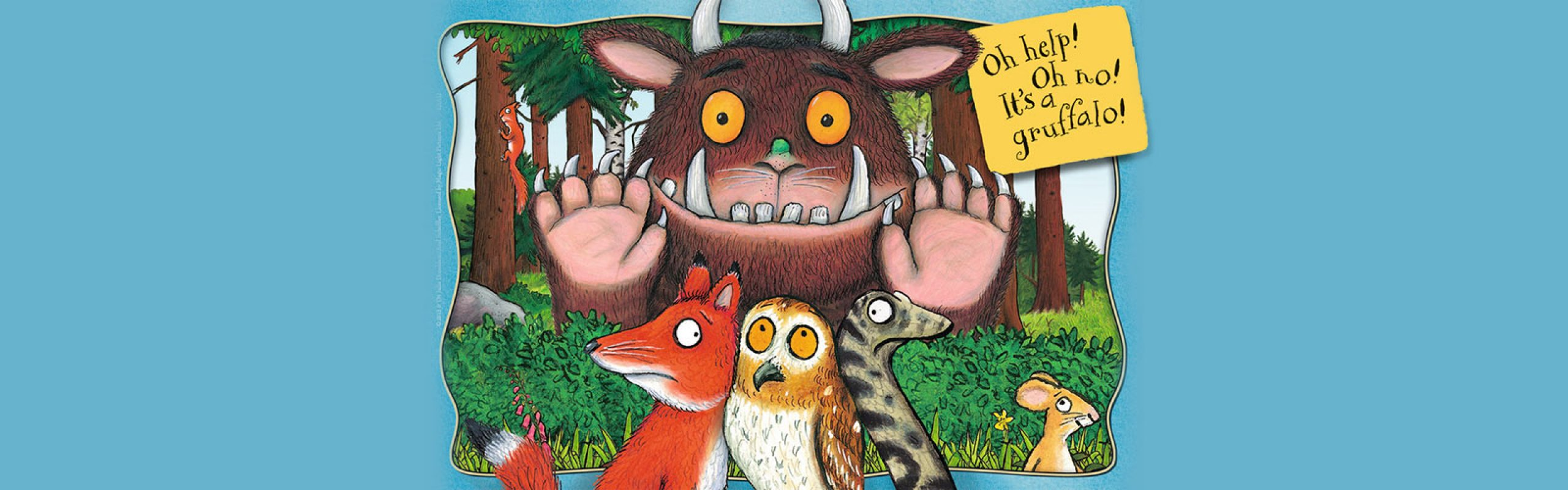 It's Storytime! The Gruffalo