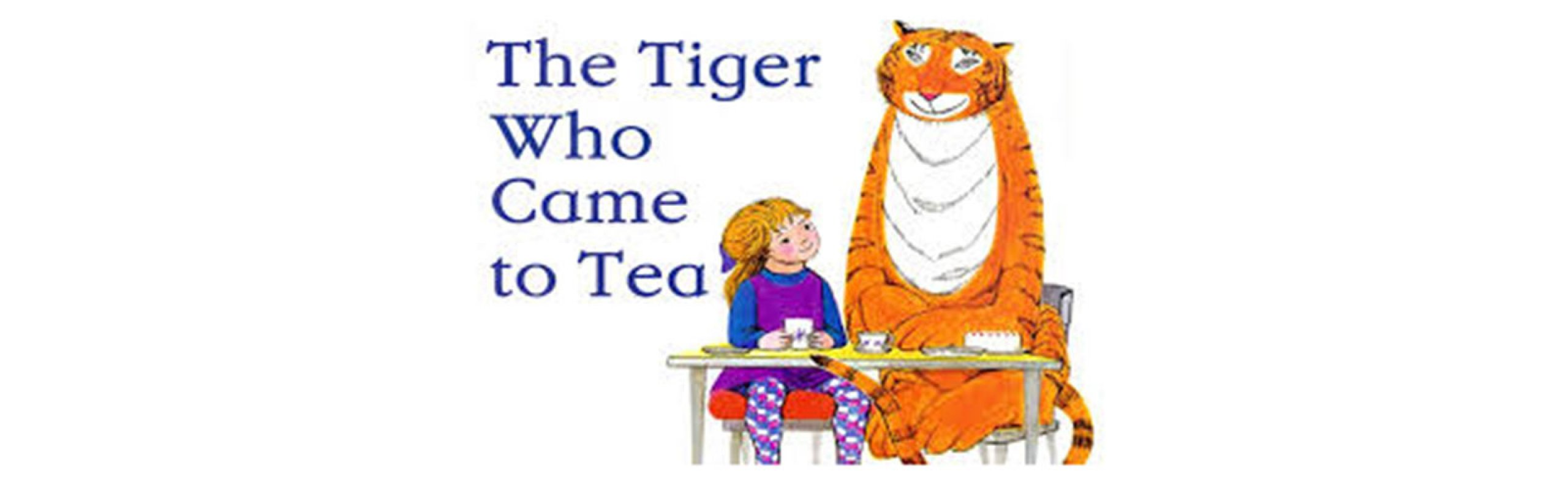 It's Storytime! The Tiger Who Came to Tea by Judith Kerr
