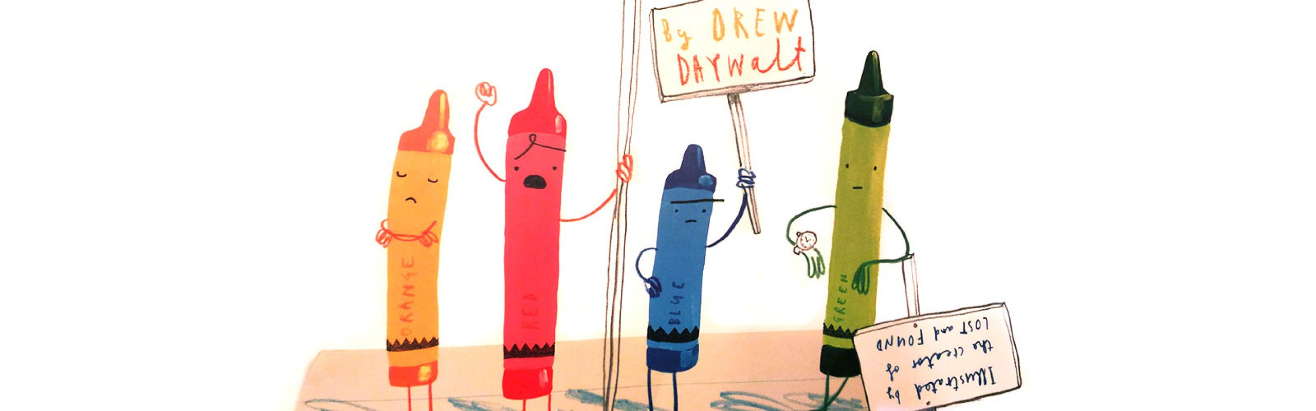 It's Storytime! THE DAY THE CRAYONS QUIT di Drew Daywalt