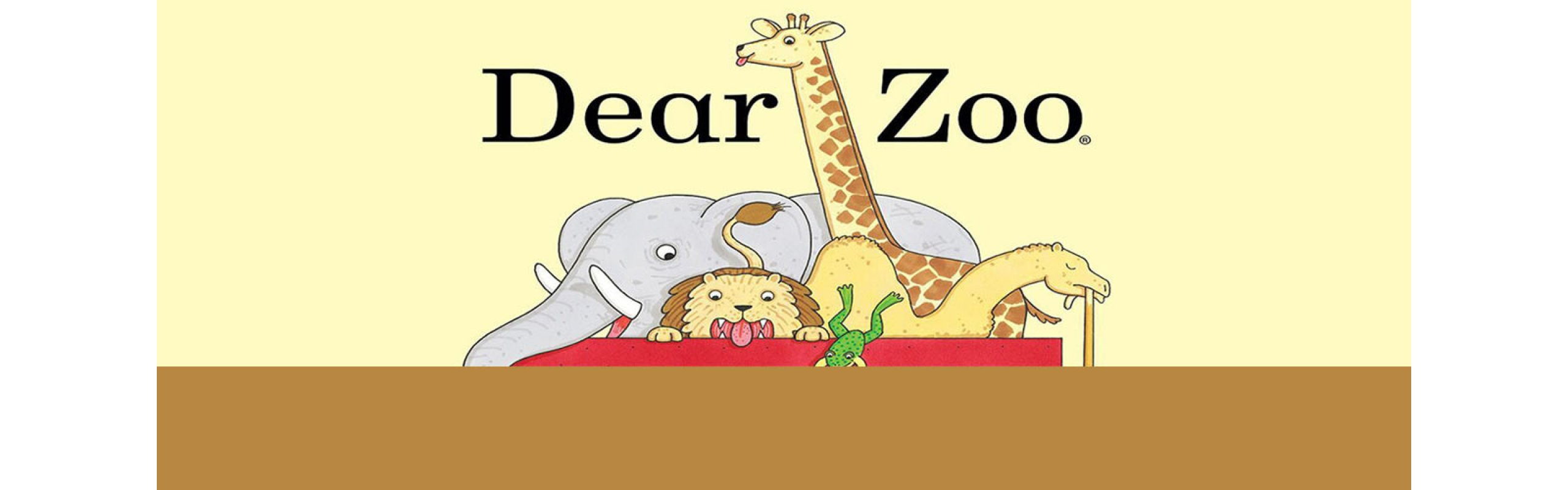 It's Storytime! DEAR ZOO by Rod Campbell