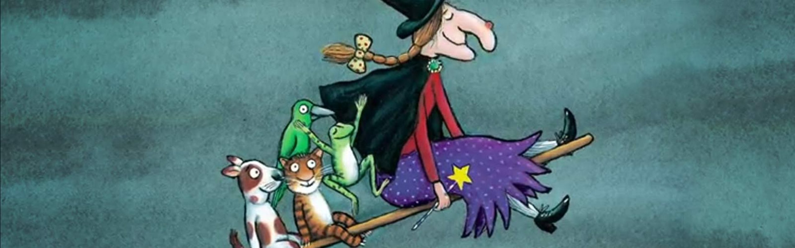 It's Storytime! Room on the broom